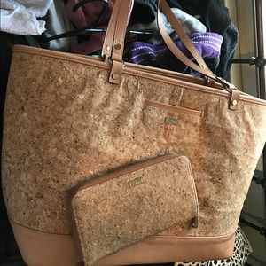 Thirty one cork purse and matching wallet
